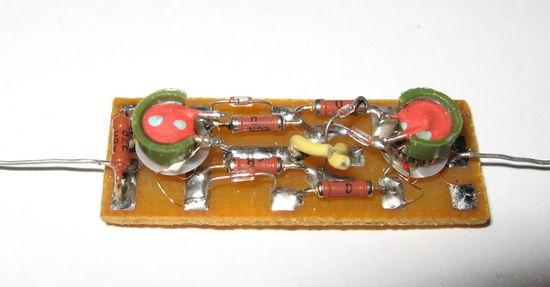 Плата диодного смесителя (диапазон 0,05 - 300 MHz)