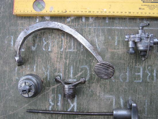 Тормозной рычаг от мотороллера из СССР.