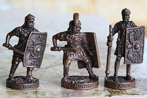 """Металлические солдатики из серии """"Древний Рим"""".  Поштучно."""