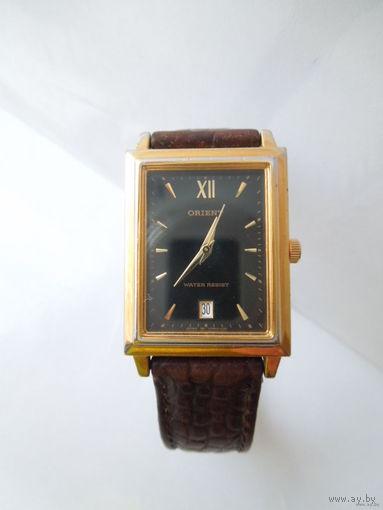 """Часы наручные кварцевые """"ORIENT"""", кожаный ремешок, Япония."""