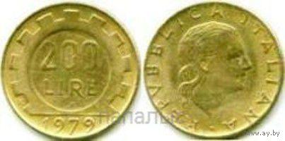 Италия 200 lire 1979