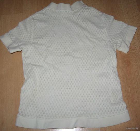 Белая футболка 6-7 лет