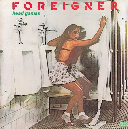 Foreigner - Head Games - LP - 1979