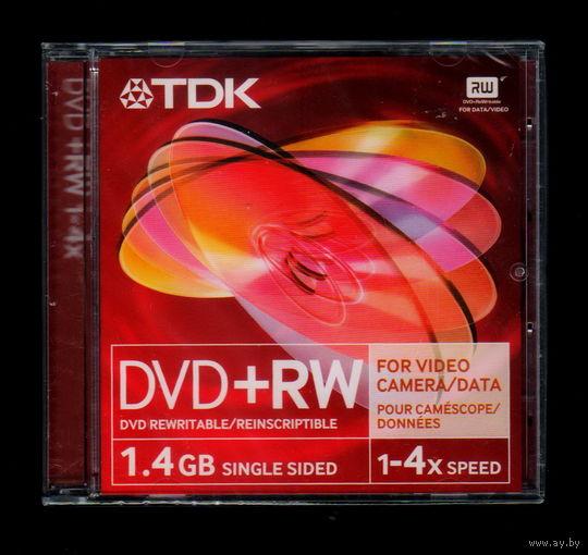 TDK DVD+RW 1,4Gb, 1-4x speed