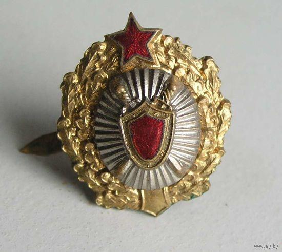Кокарда Прокуратура СССР тяжелый металл 1949-1954 гг