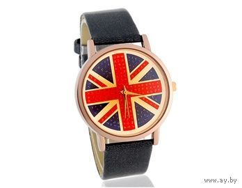 Стильные унисекс часы с изображением британского флага. Новые, в Минске!
