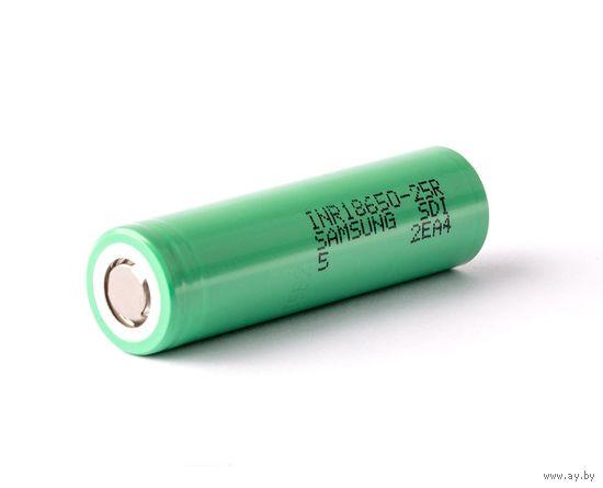 Аккумулятор 18650 Samsung 25R 2500mAh 3.7V (высокотоковый)