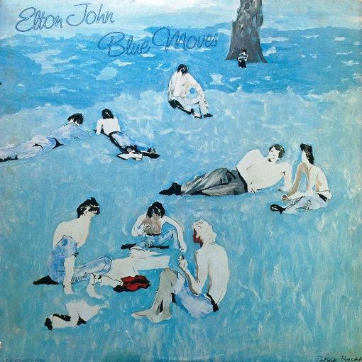 Elton John - Blue Moves - 2LP - 1976