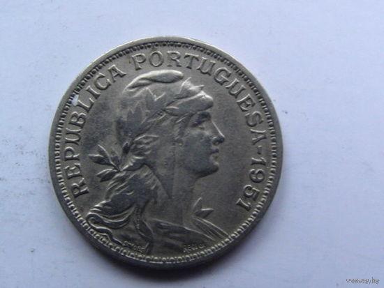 Португалия 50 центаво 1951г.  распродажа