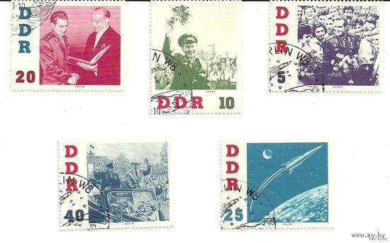 Советский космонавт Г.С. Титов в Германии. ГДР (Германия)