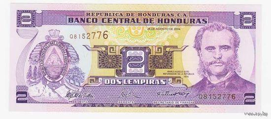 2 Лемпир 2004 (Гондурас) ПРЕСС