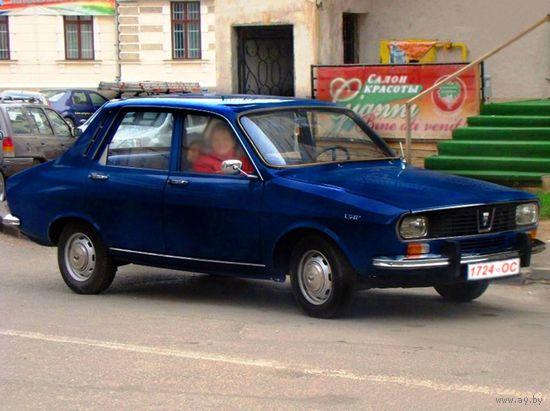 Раритетный автомобиль Dacia-1300 (Румыния)