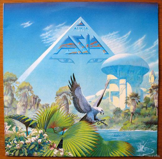 "Asia ""Alpha"" LP, 1983"