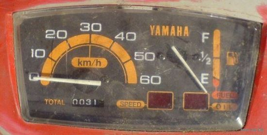 Спидометр на скутер Ямаха 2kj