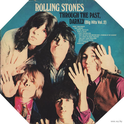 Rolling Stones - Through The Past, Darkly (Big Hits Vol. 2) - LP - 1969