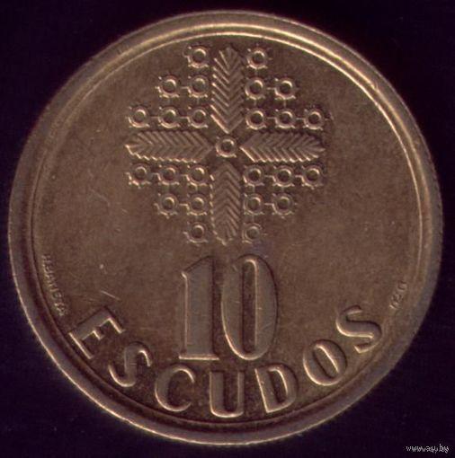 10 Эскудо 1988 год Португалия