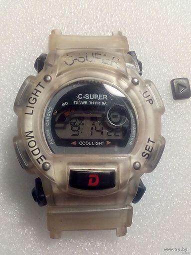 Часы C-Super электронные