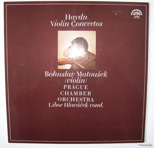 LP JOSEPH HAYDN/Bohuslav Matousek - Violin Concertos (1975)