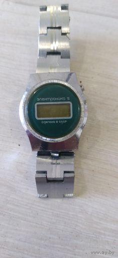 Часы наручные электроника 5 женские СССР