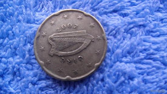 Ирландия 20 евроцентов 2002г. распродажа