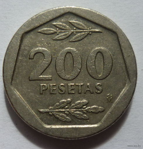 Испания. 200 пессет 1987г.