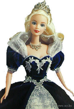 Кукла Барби/Barbie Millenium Princess - коллекционная фирмы Mattel-(NRFB)!