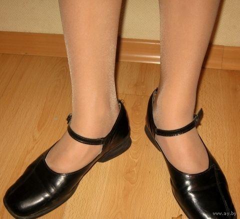 Туфли черные кожаные 36 рр