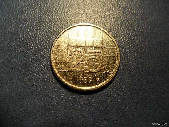 25 ct. NEDERLANDEN  1989г.