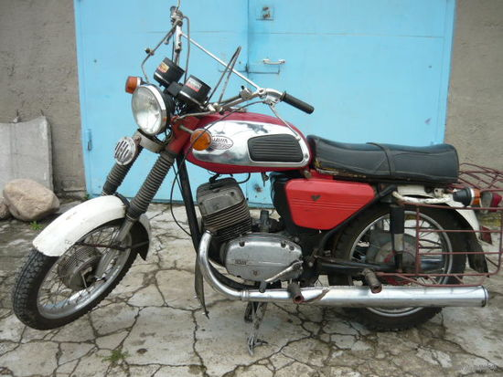 Мотоцикл Ява 634 1979 года в колекцию