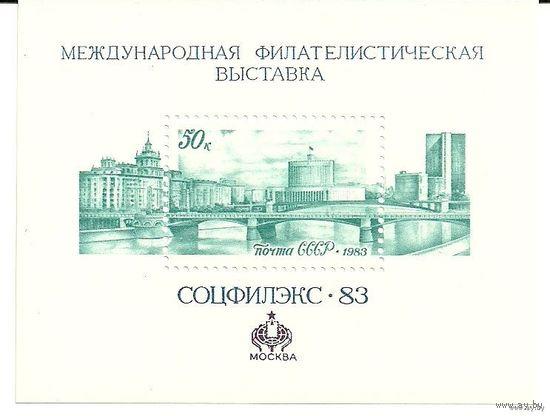 Соцфилэкс-83. Блок негаш. 1983 СССР