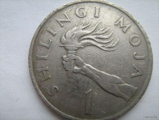 Танзания 1шиллинг 1983г.