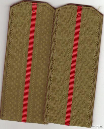 Погоны мл. офицерского состава СССР (рубашка)