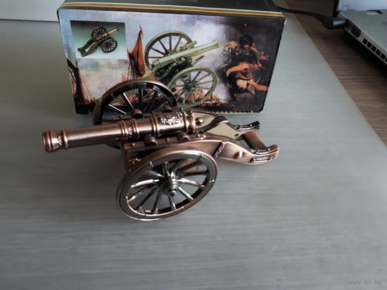 Интерьерная настольная пушка + турбо зажигалка