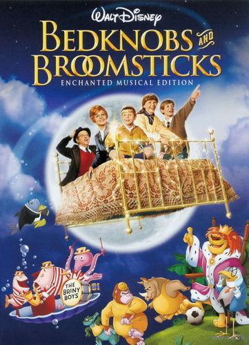 Набалдашник и метла (Ведьма на летающей кровати) / Bedknobs and Broomsticks (США, 1971) Скриншоты внутри