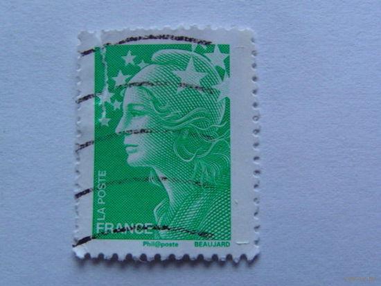 Франция марка зелёная    распродажа