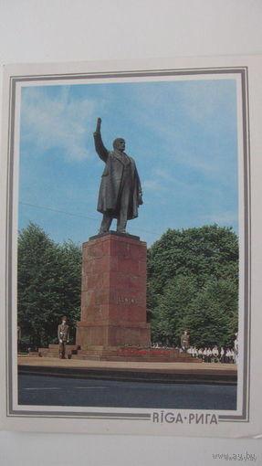 Рига 1989г. Ленин