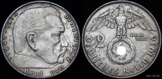 2 марки 1936 J   RRR