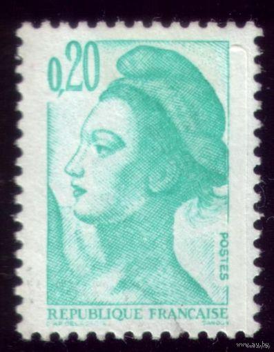 1 марка 1982 год Франция Стандарт