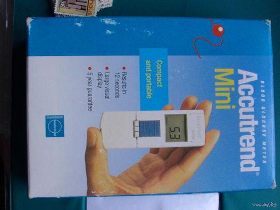 Глюкометр Accutrend mini германия.  распродажа