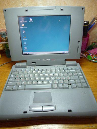 Ноутбук NEC VERSA 2205C (настоящий антиквариат в мире компьютеров)