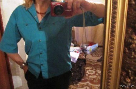 Рубашка Шик р.50 цвет морской волны
