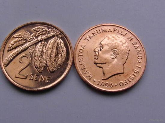 Самоа и Сизифо 2 сене 1996, UNC штемпельный блеск  распродажа