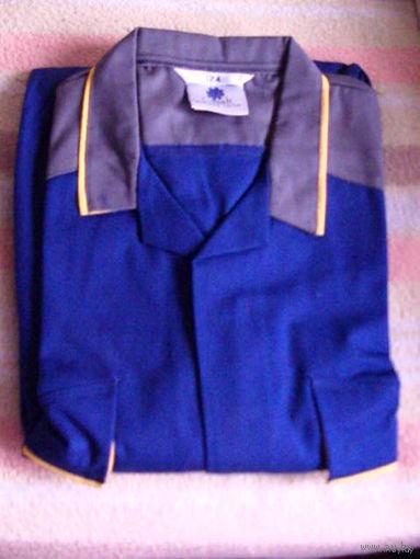 Камбинизон серо-синий автомобильный  MAN  фирменный   распродажа