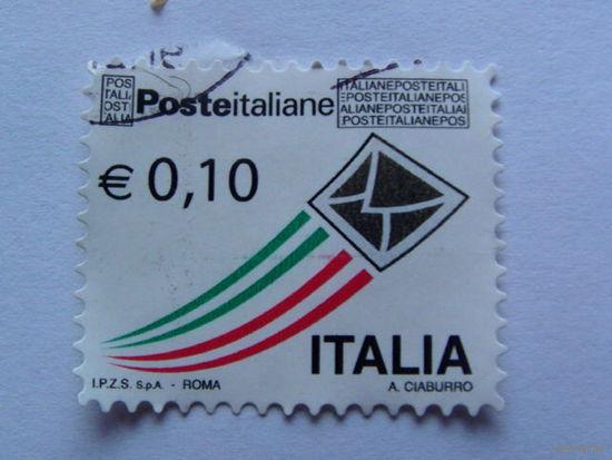 Италия марка 0.10 евро    распродажа