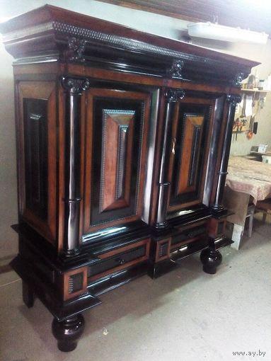 Антикварная, старая мебель реставрация и ремонт.