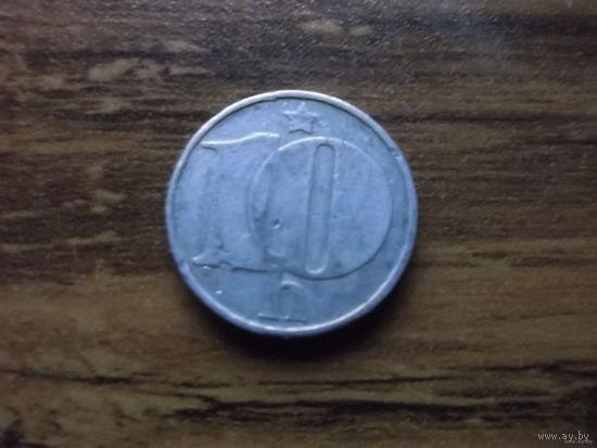 Чехословакия 10 геллеров 1975