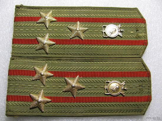Погоны. Полковник. Военные строители ВС СССР