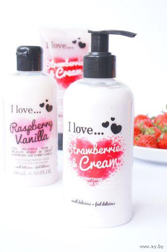 Увлажняющий ЛОСЬОН для тела I Love... Strawberries and Cream Moisturizing Body Lotion 250мл