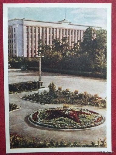 Минск  здание  ЦК КПБ  1954