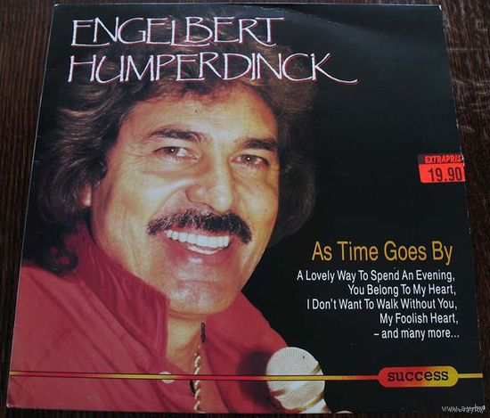 "Engelbert Humperdinck ""As Time Goes By"" LP, 1989"